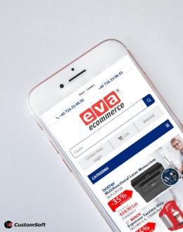 Eva e-commerce mobile